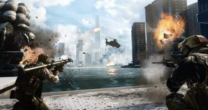 Battlefield 4 1.19 PS4 update live with exact notes