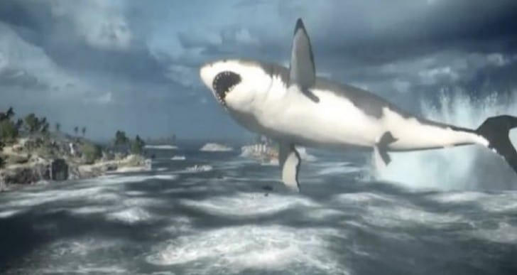 Battlefield 4 Megalodon Shark location