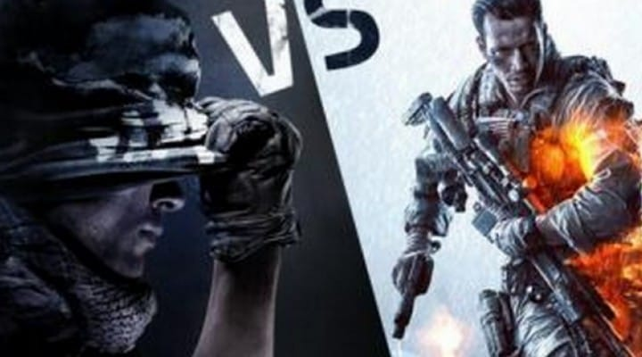 Battlefield 4 Vs Call of Duty Ghosts after launch trailers