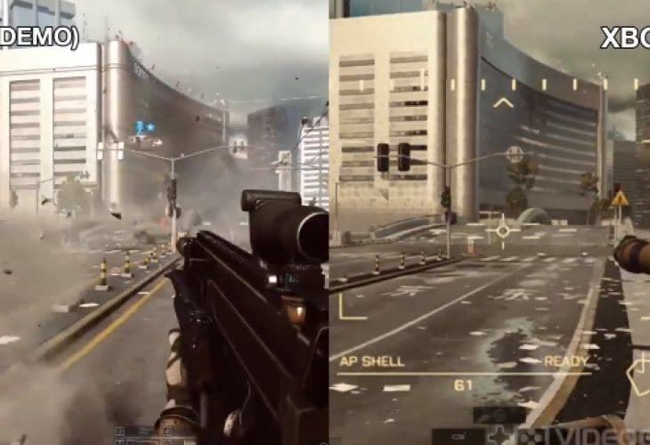 Xbox One Battlefield 4 Gameplay Battlefield 4 graphics...