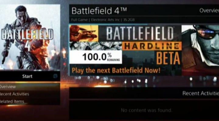 New Battlefield Hardline beta for PC, PS4, Xbox One