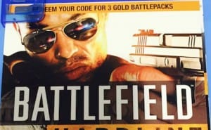 Battlefield Hardline Gold Battlepacks missing