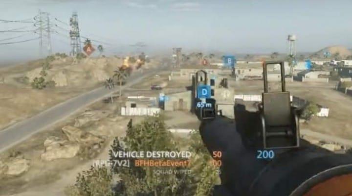 Battlefield Hardline RPG lock-on with tracer dart