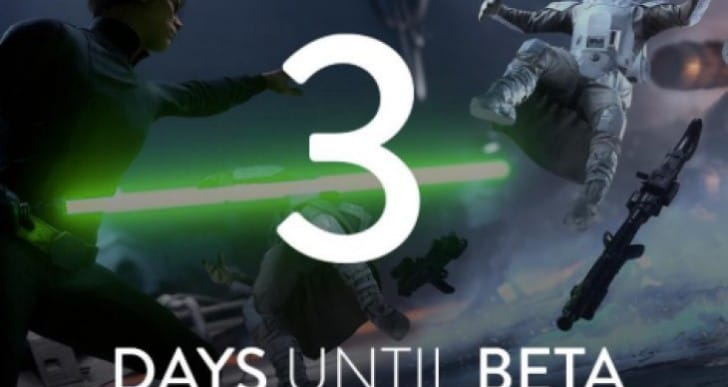 Star Wars Battlefront beta release time and pre-load