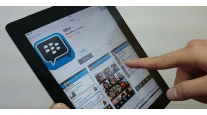 BBM for Wi-Fi iPod touch and iPad petitioned
