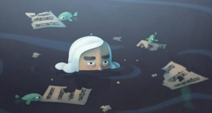 Google Doodle today with amazing Beethoven game