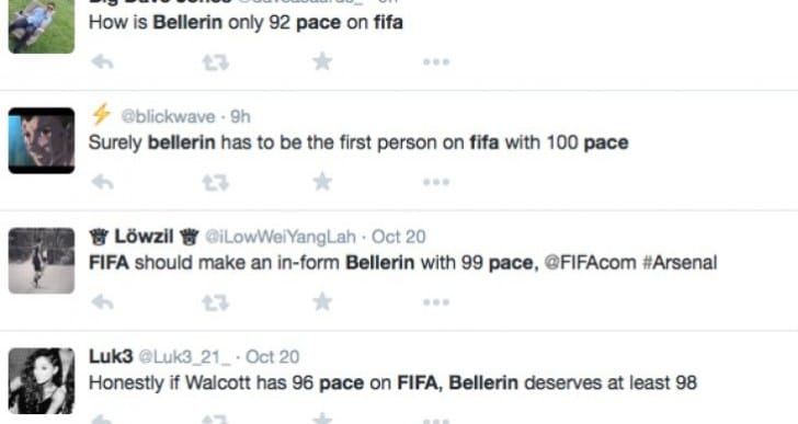Arsenal fans want Bellerin pace upgrade on FIFA 16