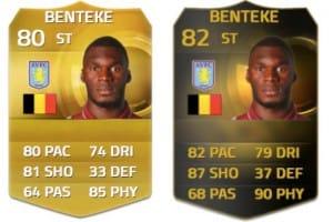 Benteke FIFA 16 upgrade for Liverpool FC