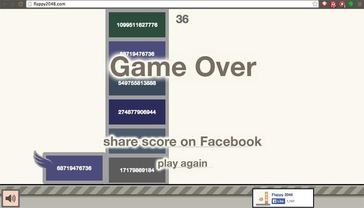 best-2048-Flappy-Bird-online-score