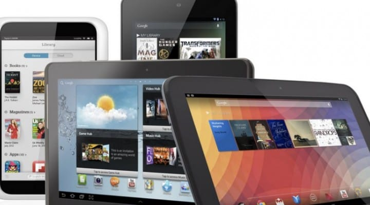 Best Android tablets in February 2014