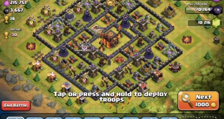 Best Clash of Clans Lava Hound attack