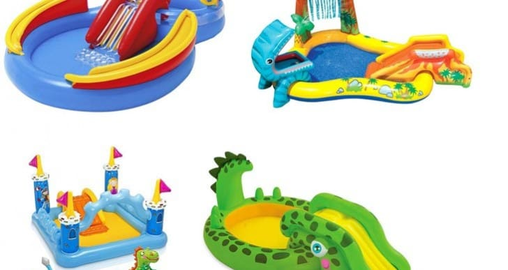 4 Best Paddling Pools with Slide