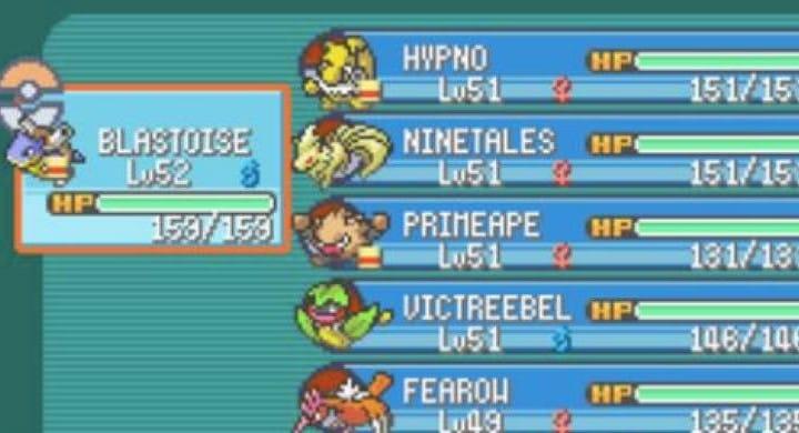Best Pokemon team for Omega Ruby, Alpha Sapphire