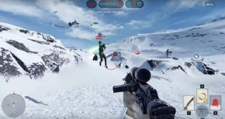 Best Star Wars Battlefront beta moment