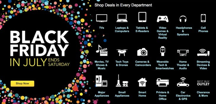 Massive iPad sale with Best Buy Black Friday July deals