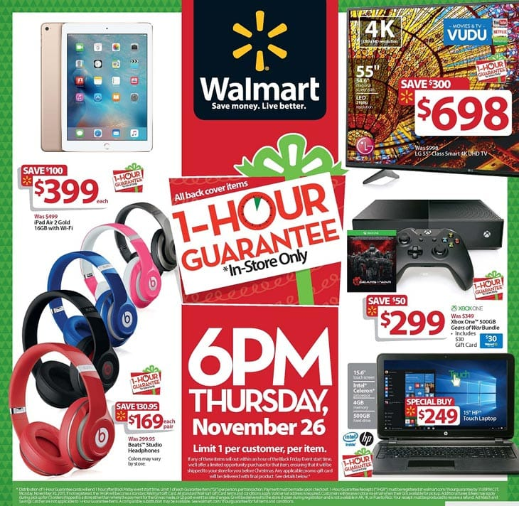 black-friday-walmart-1-hour