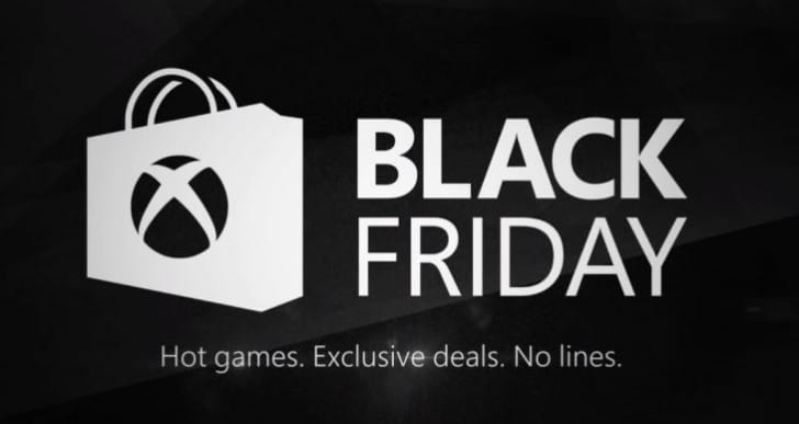 Xbox Store Black Friday sale for US, not UK?