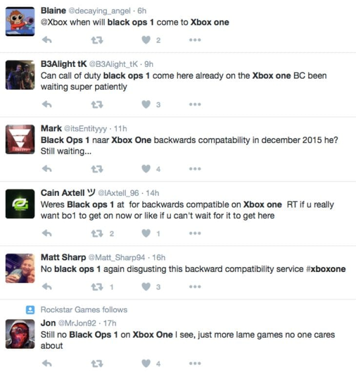 Black Ops 1 backwards compatibility release date delay