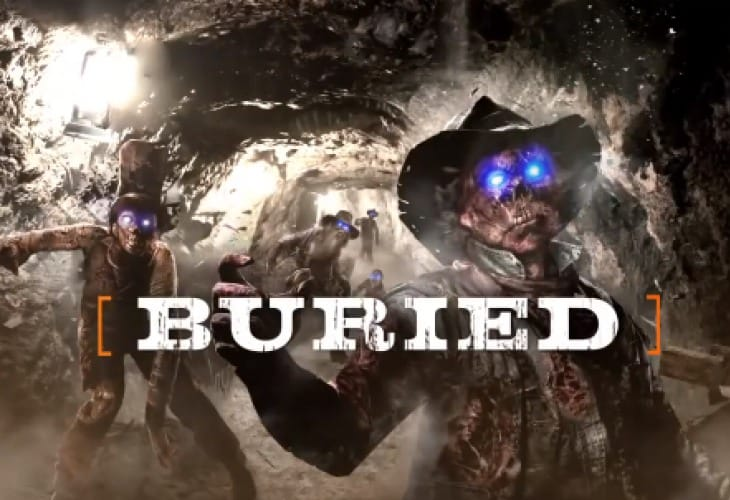 Black Ops 2 Buried zombies could have scavenger perk