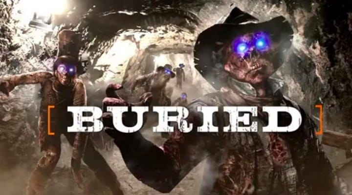 Black Ops 2 Buried zombies release time with Vengeance DLC