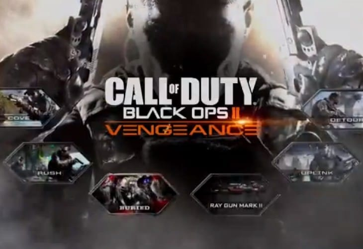 Black Ops 2 DLC 3 with Buried zombies, Ray Gun 2