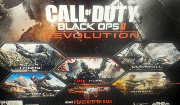 Black Ops 2 DLC Revolution with Die Rise zombies