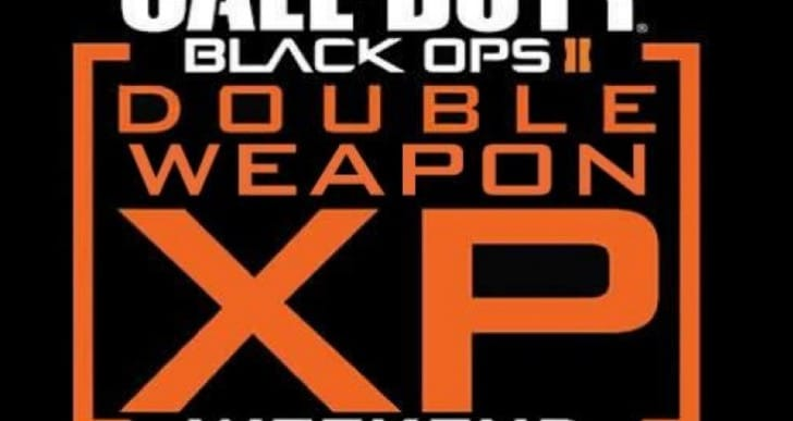 Black Ops 2 Double Weapon XP for Diamond hunters