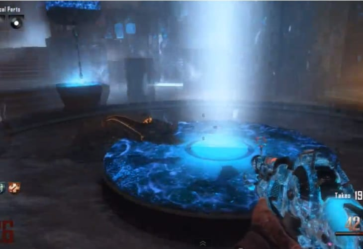 Black Ops 2 Origins Easter Egg complete on Solo