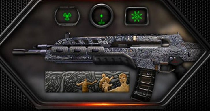 Black Ops 2 DLC skin for zombie lovers