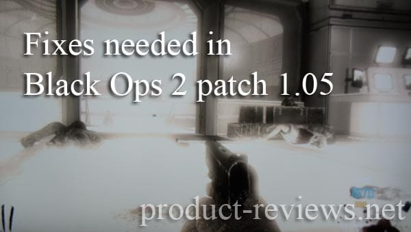 Black Ops 2 patch 1.05 craved on PS3