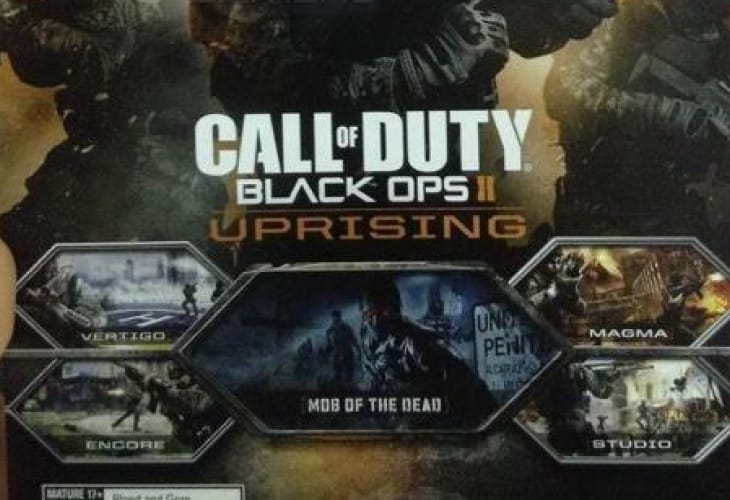 Black Ops 2 Zombies teaser, Mob of the Dead date