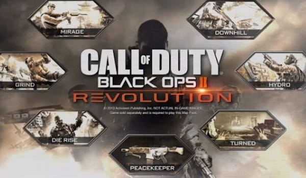 Wii U Revolution DLC for Black Ops 2 false alarm