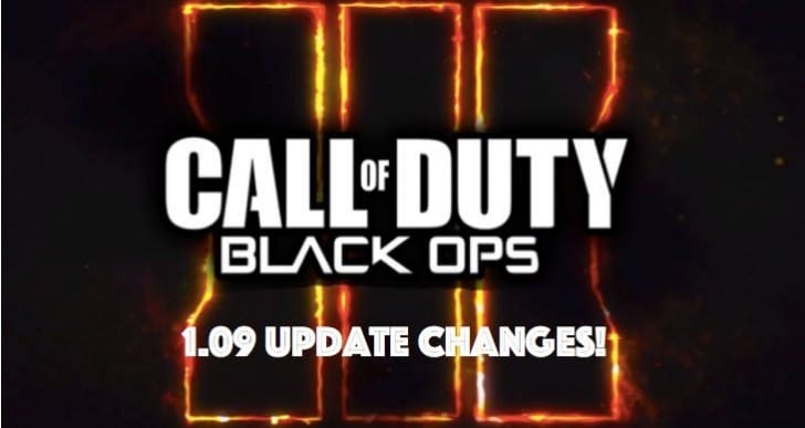 Black Ops 3 1.09 update for key fixes needed