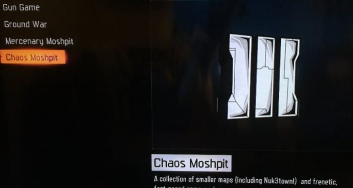Black Ops 3 Chaos Moshpit Cryptokeys with Double XP