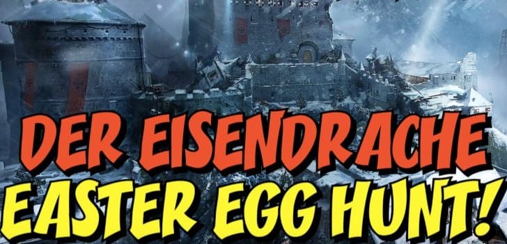 Der Eisendrache Zombies Easter Egg hunt with live streams