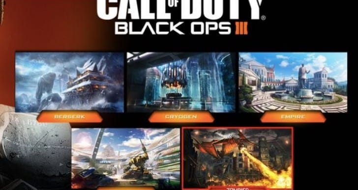 BO3 Descent DLC 3 PS4 release time for US, UK