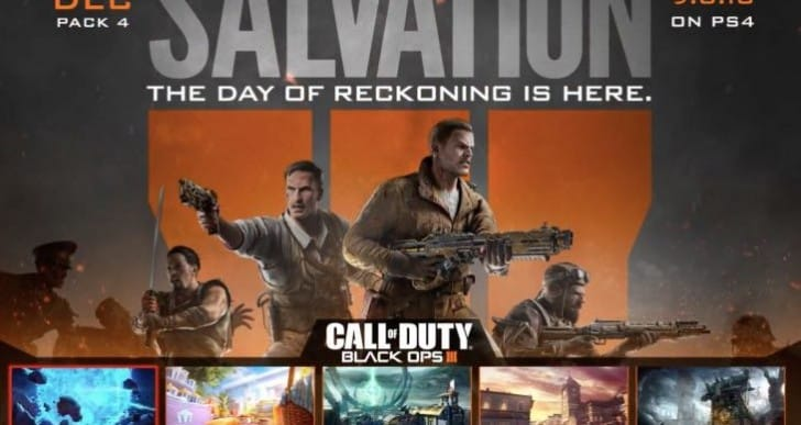 BO3 Salvation DLC 4 release time for Xbox One, PC