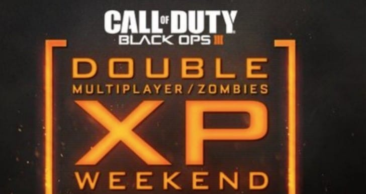 Black Ops 3 Double XP weekend time for April 15-18