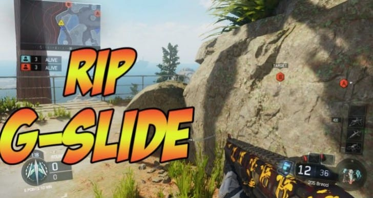 Black Ops 3 G-Slide still possible after 1.05 patch