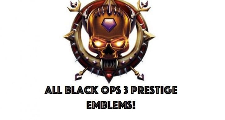 List of all Black Ops 3 Prestige Emblems