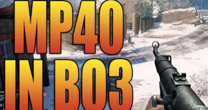 Black Ops 3 DLC 2 with MP40 after HG 40 gameplay