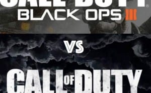 COD World at War 2 Vs Black Ops 3 demand in 2015