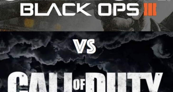 COD World at War 2 Vs Black Ops 3 demand in 2015