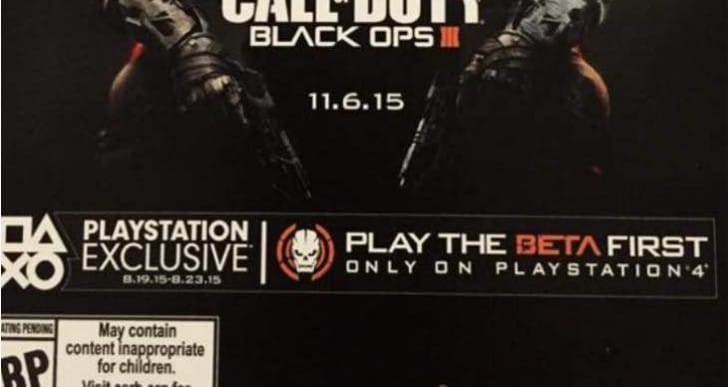 Black Ops 3 beta code invalid claims increase