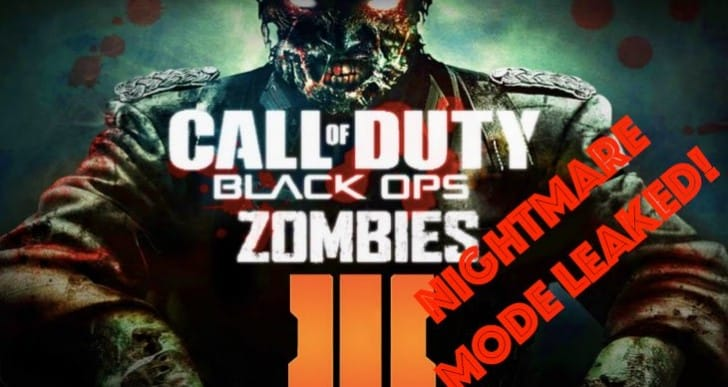 Secret Black Ops 3 Nightmare Zombies gameplay leaked