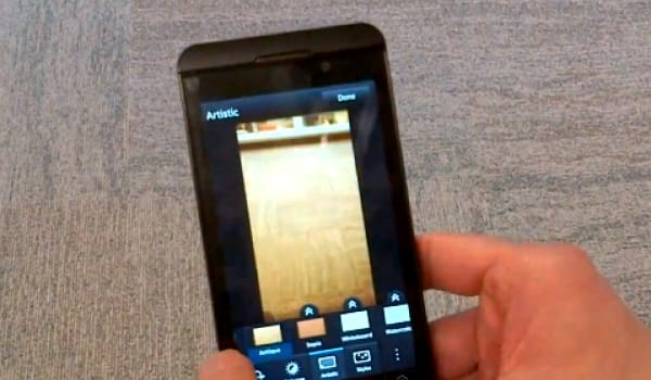 BlackBerry 10 camera features build on Instagram craze