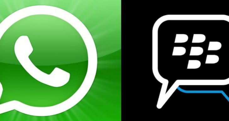 BlackBerry Messenger Vs Whatsapp after cross-platform joy