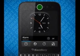 BlackBerry R10 touch gestures shown on video