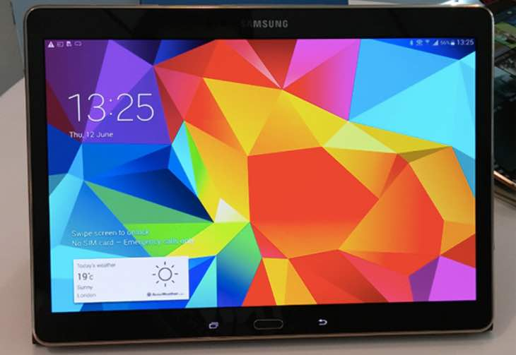 New BlackBerry tablet a Galaxy Tab S 10.5 in disguise