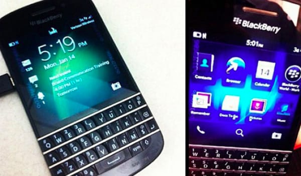 BlackBerry X10 QWERTY spotted on Verizon